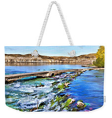 Giant Springs 3 Weekender Tote Bag