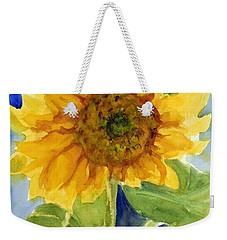 Giant Sunflower Weekender Tote Bag