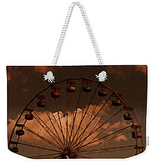 Weekender Tote Bag featuring the photograph Giant Wheel by David Dehner