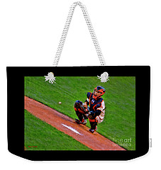 Giants Buster Posey Gets Fast Ball Weekender Tote Bag