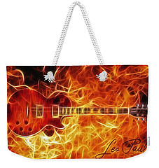 Gibson Les Paul Weekender Tote Bag by Taylan Apukovska