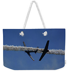 Weekender Tote Bag featuring the photograph Gieco by Raymond Salani III