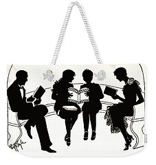 Weekender Tote Bag featuring the photograph Gift Books 1920 by Padre Art