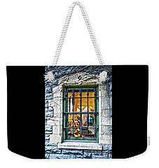 Weekender Tote Bag featuring the photograph Gift Shop Window by Sandy Moulder