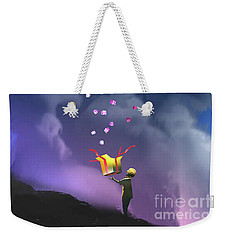 Gifts From The Moon Weekender Tote Bag