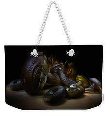 Weekender Tote Bag featuring the photograph Gifts Of September by Alexey Kljatov