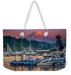 Gig Harbor Dusk Weekender Tote Bag