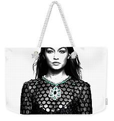 Gigi Catwalk Weekender Tote Bag by Brian Reaves