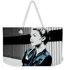 Gigi Hadid 1a Weekender Tote Bag by Brian Reaves