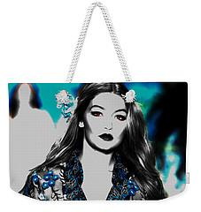 Gigi Hadid 1e Weekender Tote Bag by Brian Reaves