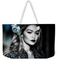 Gigi Hadid Weekender Tote Bag by Brian Reaves