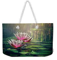 Gilding The Lily Weekender Tote Bag by Carol Japp