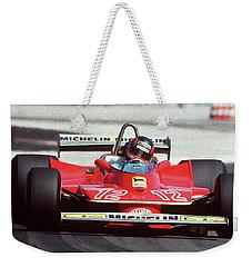 Gilles Villeneuve, Ferrari Legend - 01 Weekender Tote Bag