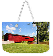 Gilpin's Falls Covered Bridge Weekender Tote Bag