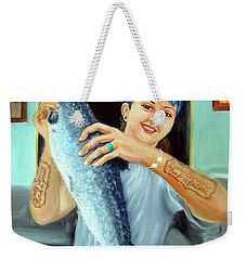Gina's Fresh Catch Weekender Tote Bag