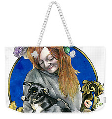 Ginger And Her Lovelies Weekender Tote Bag by Arleana Holtzmann