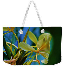 Weekender Tote Bag featuring the photograph Ginger Blossom by Craig Wood
