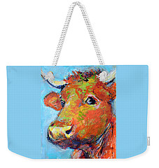 Ginger Horn Weekender Tote Bag by Mary Schiros