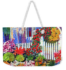 Gingerbread In Bloom Weekender Tote Bag
