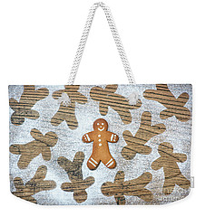Weekender Tote Bag featuring the photograph Gingerbread by Tim Gainey