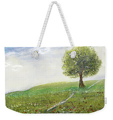 Ginger's Meadow Weekender Tote Bag