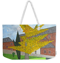 Gingko Tree At St. James Church Weekender Tote Bag