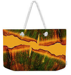 Ginkgo Abstraction Weekender Tote Bag