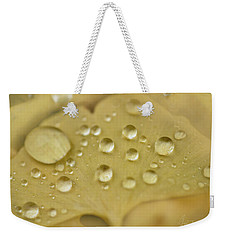 Weekender Tote Bag featuring the photograph Ginkgo Balls by Gene Garnace