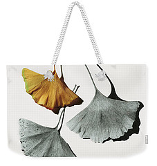 Ginkgo Leaves Weekender Tote Bag