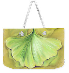 Ginkgo On The Cusp Of Autumn Weekender Tote Bag by MM Anderson
