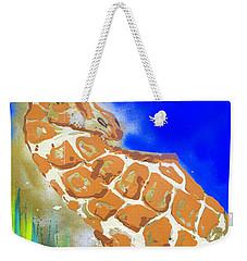 Giraffe Weekender Tote Bag by J R Seymour