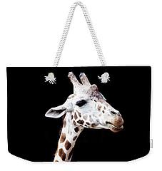 Giraffe Weekender Tote Bag by Lauren Mancke