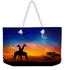 Giraffes Can Dance Weekender Tote Bag