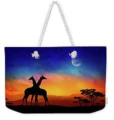 Giraffes Can Dance Weekender Tote Bag