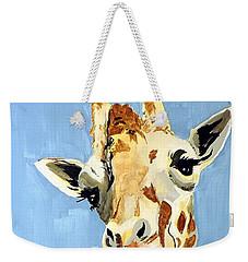 Girard Giraffe Weekender Tote Bag by Tom Riggs