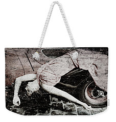 Weekender Tote Bag featuring the photograph Girl #3434 by Andrey  Godyaykin
