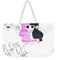 Melanie Martinez Weekender Tote Bag by Lucy Frost