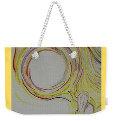 Girl And Universe Creative Connection Weekender Tote Bag