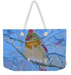 Girl Cardinal Weekender Tote Bag