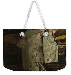 Girl In A White Kimono, 1894 Weekender Tote Bag