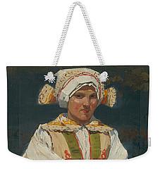 Girl In Costume, Antos Frolka, 1910 Weekender Tote Bag