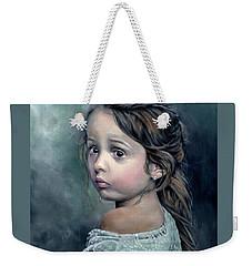 Girl In Lace Weekender Tote Bag