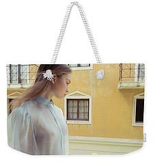 Girl In Profile Weekender Tote Bag