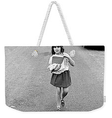Girl On 13th Street, 1971 Weekender Tote Bag