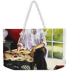 Girl Talk Weekender Tote Bag