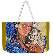 Independent Indian Girl.              From The Attitude Girls  Weekender Tote Bag