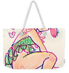 Girl01 Weekender Tote Bag