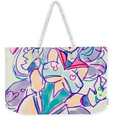 Girl02 Weekender Tote Bag