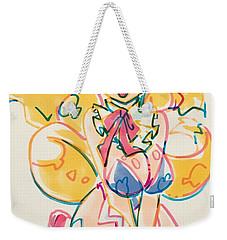 Girl03 Weekender Tote Bag