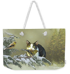 Girlie With The Goldfinches Weekender Tote Bag